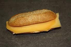 Belegd broodje met Oude kaas