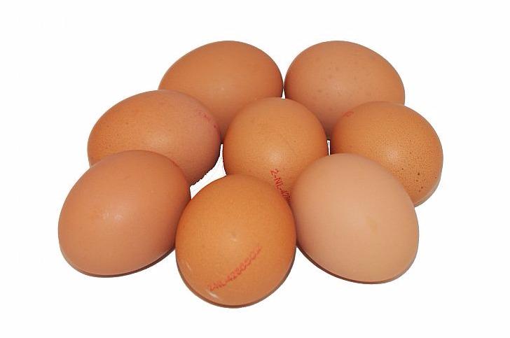 Eieren 6 stuks EKO