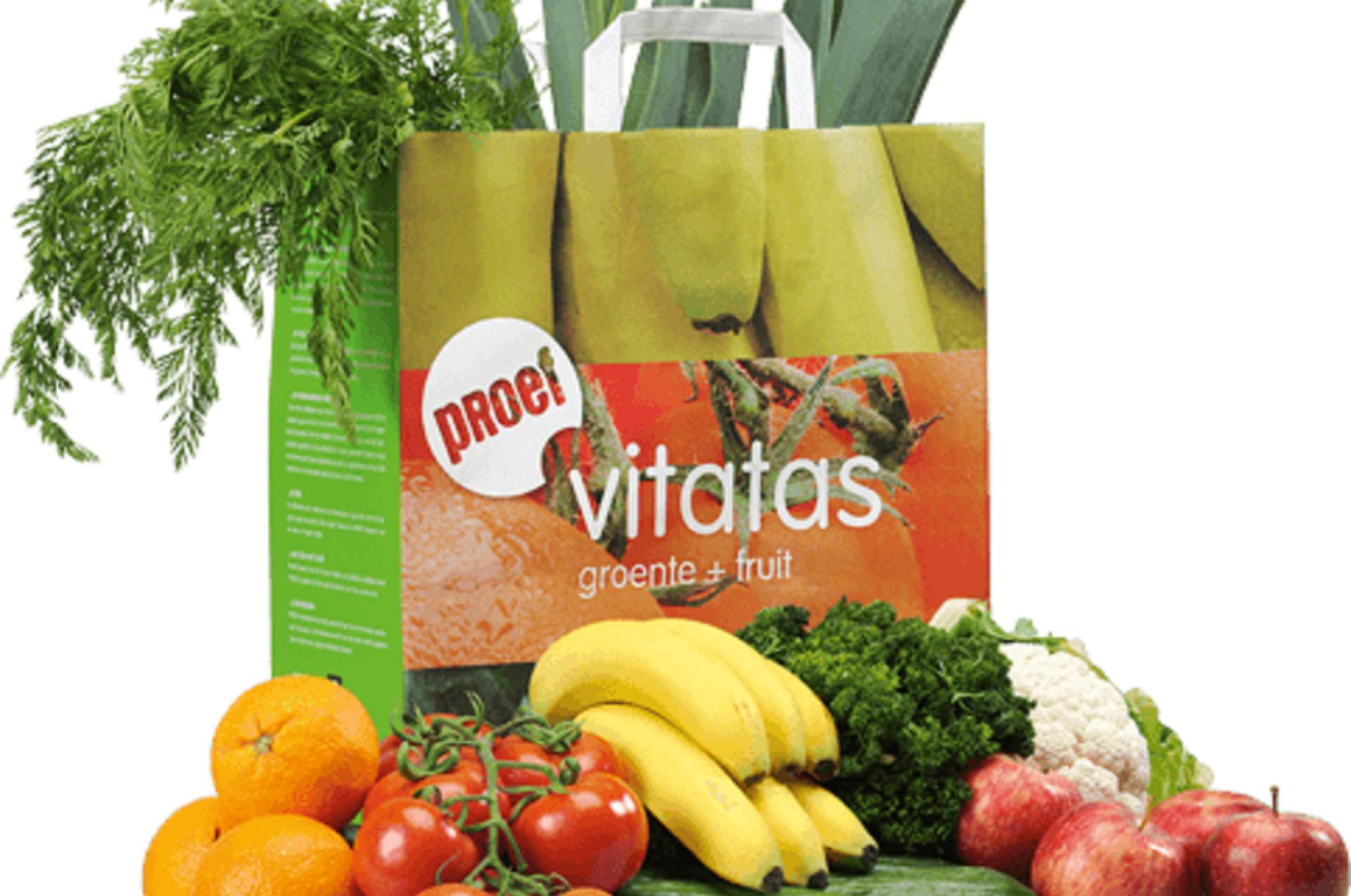 1-persoon groente en fruit